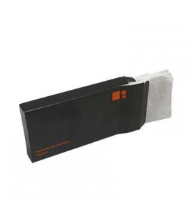 TISSUES 5 UDS SACHET BLACK ORANGE
